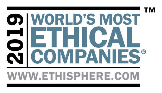 2019 World's Most Ethical Companies | www.ethisphere.com