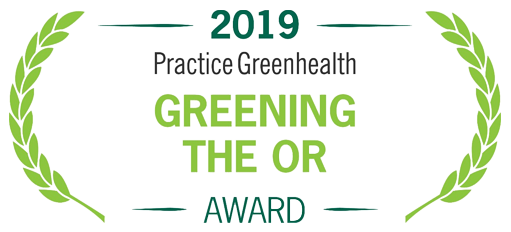 2019 Practice Greenheatlh Greening The OR Award