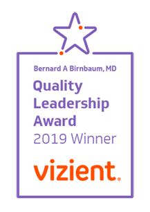 Quality Leadership Award | Vizient