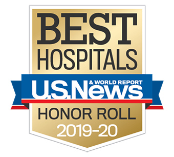 US News & World Report | Best Hospitals Honor Roll 2019-20