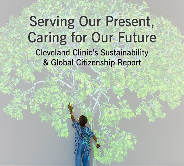 Sustainability & Global Citizenship Report | Cleveland Clinic
