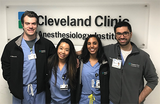Anesthesiology Chief Residents | Cleveland Clinic
