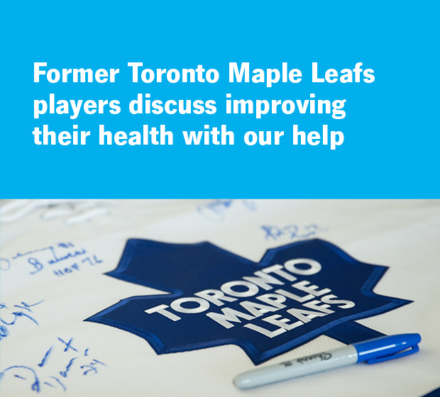 Improve Your Health: Toronto Maple Leafs | Cleveland Clinic Canada
