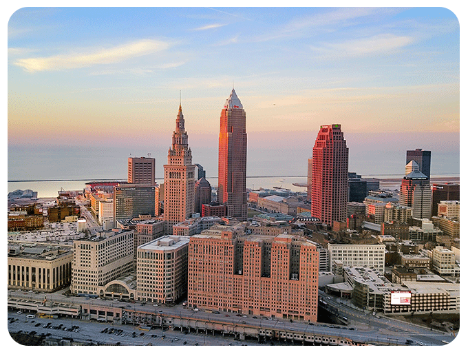 City of Cleveland and Case Western Reserve University Campus