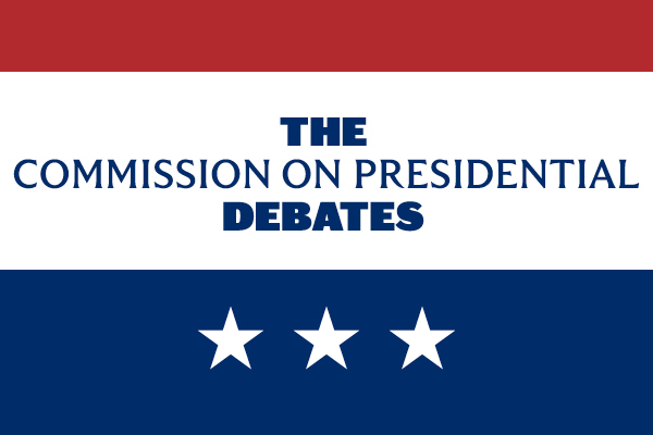 The Commission on Presidential Debates logo