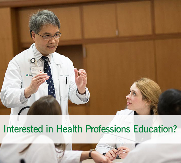 Health Professions Education | Cleveland Clinic