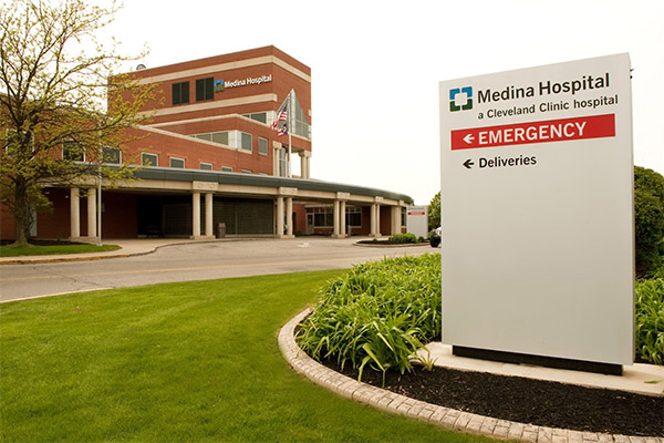 Cleveland Clinic Medina Hospital's Emergency Room, located in Medina, Ohio