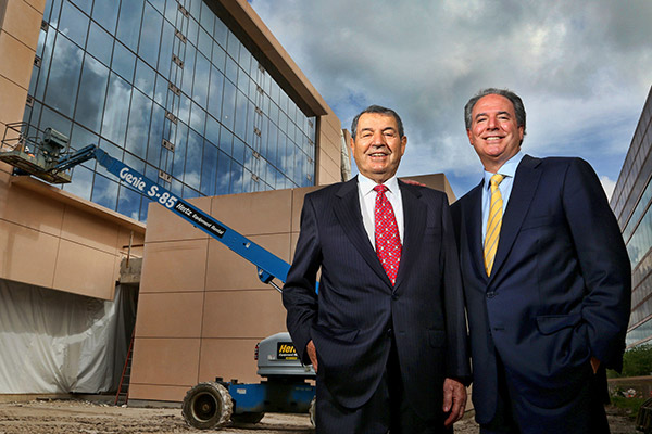 Leadership for the Campaign for Cleveland Clinic Florida: Albert E. Maroone (left) and Michael E. Maroone (right)