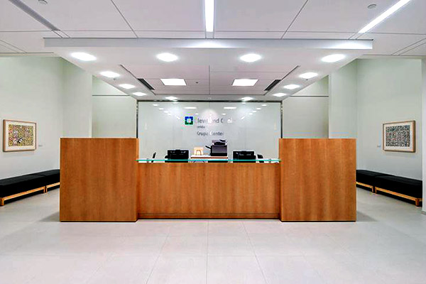 Cleveland Clinic Florida Krupa Center lobby