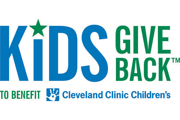 Kids Give Back to benefit Cleveland Clinic Children's TM logo