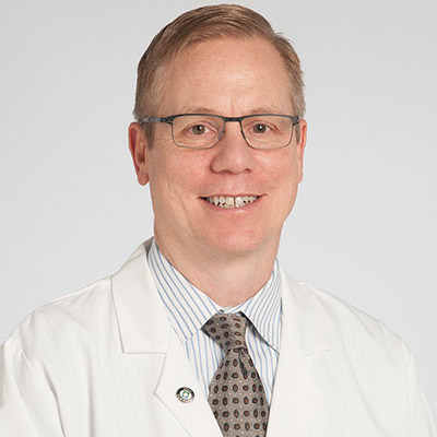 Brian Rubin, MD, PhD, Chair of the Robert J. Tomsich Pathology & Laboratory Medicine Institute