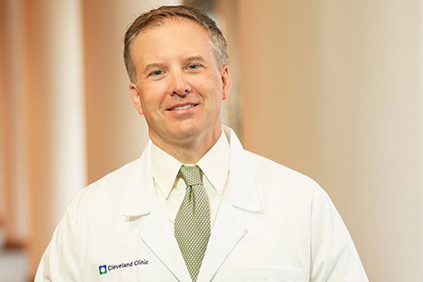 Shaun Stauffer, PhD, Director of the new Cleveland Clinic Center for Therapeutics Discovery