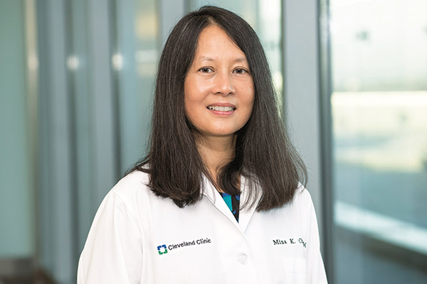 Mina Chung, MD, Director of the Center of Excellence in Cardiovascular Translational Functional Genomics