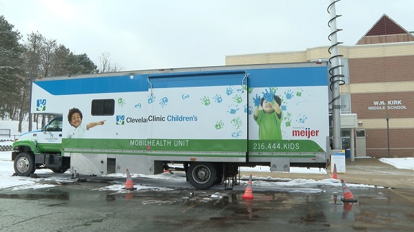 Meijer $2M gift was used to purchase an additional mobile health unit.