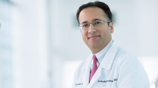 Ardeshir Hashmi, MD, Director of Cleveland Clinic's Center for Geriatric Medicine