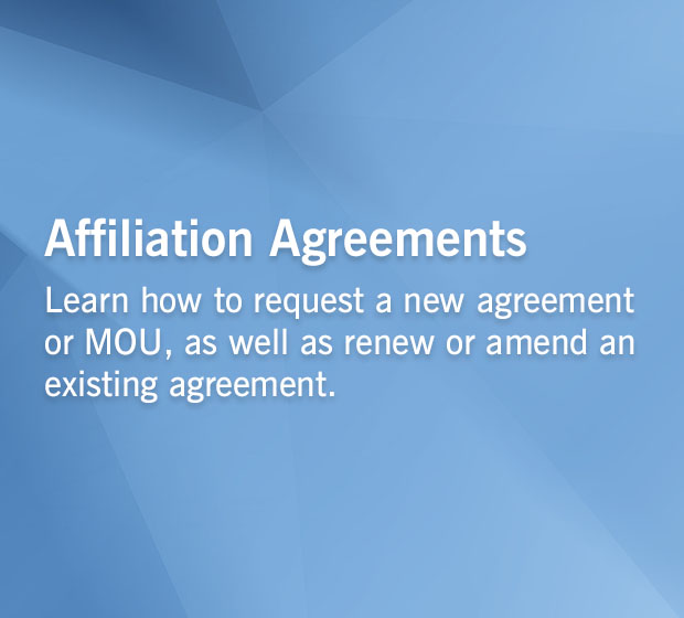 Affiliation Agreements | Cleveland Clinic Health Sciences Education