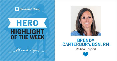 Hero of the Week: Persistence prevents more complicated procedure | Brenda Canterbury