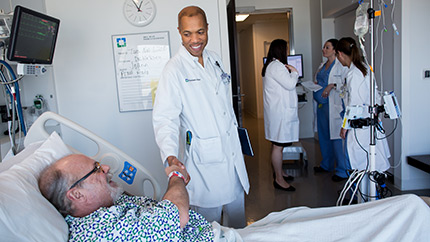 World-class patient care is at the heart of everything we do.