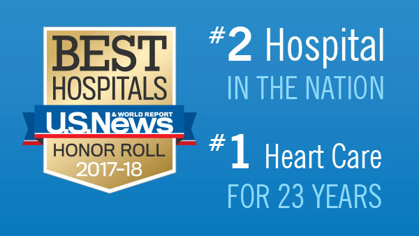 US News Heart Ranking | Cleveland Clinic