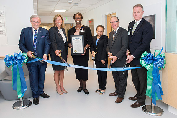 Ribbon cutting for Euclid Hospital Senior Behavioral Unit