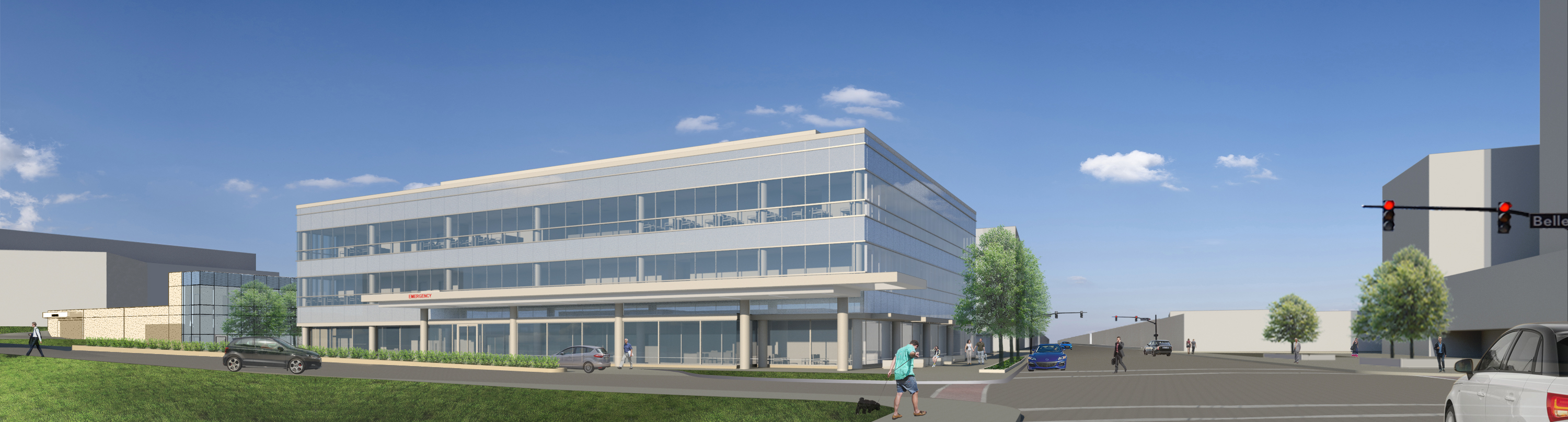 Cleveland Clinic Lakewood Family Health Center Rendering