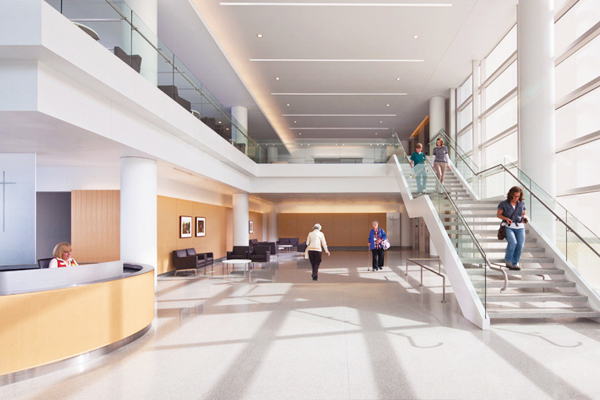 Marymount Hospital Foyer