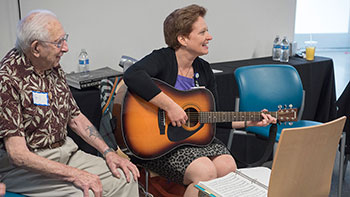 Music Therapy with a Guitar | Cleveland Clinic Nevada