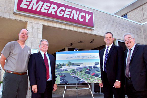Lauren Donation Helps Fund Union Hospital Emergency Center Project