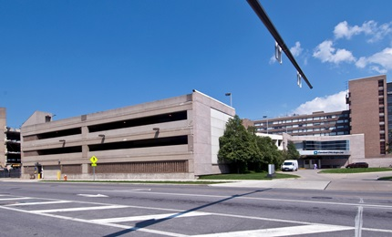 P4 - Parking garage at E. 90th St. and Carnegie Ave.