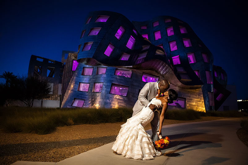 Wedding at Lou Ruvo | Cleveland Clinic Nevada