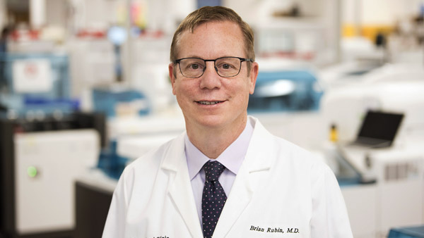 Brian Rubin, MD, Phd | Chair, Pathology & Laboratory Medicine Institute | Cleveland Clinic