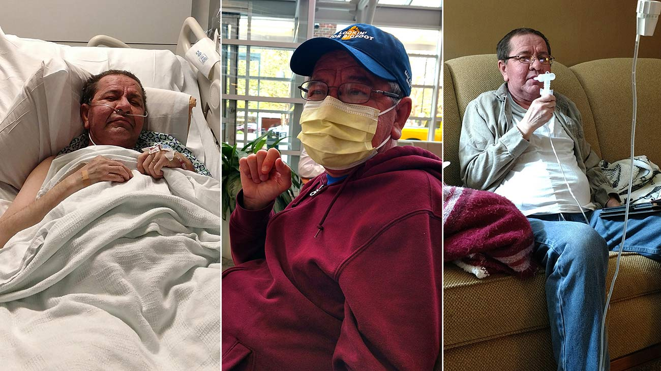 Tom underwent a lung transplant and a kidney transplant at Cleveland Clinic. (Courtesy: Tom Mathews)