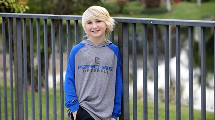 Evan Mazanec has completely recovered from his Accute Flaccid Myelitis diagnosis in 2014.