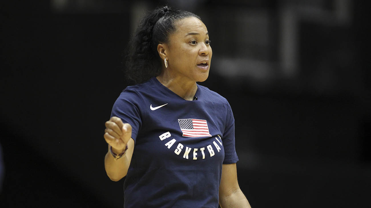 Dawn Staley is the head coach of the USA Women's Basketball team. (Courtesy: South Carolina Athletics)