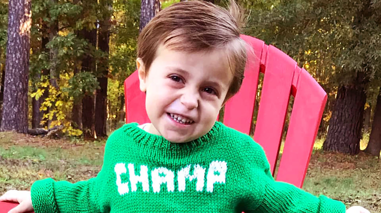 "William Reynolds, known as ""Champ,"" has a rare mitochondrial disease called Pearson syndrome."