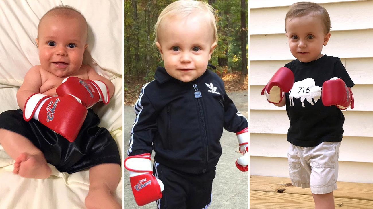 William Reynold's parents gave him the nickname 'Champ' because he's been so brave while fighting Pearson syndrome.