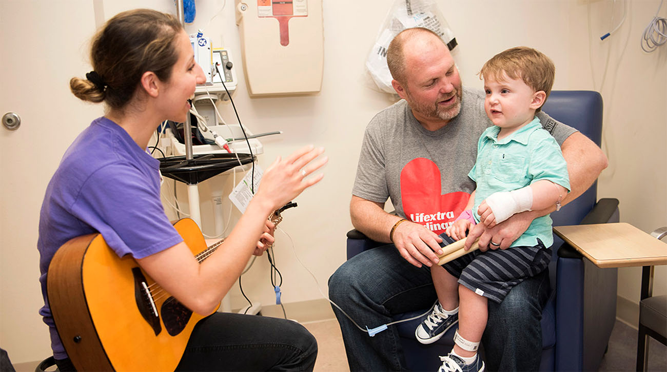 Hawken developed a love of music during his time at Cleveland Clinic Children's. (Courtesy: Cleveland Clinic)