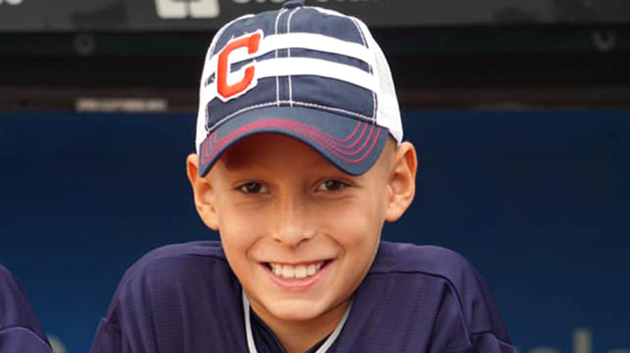 Owen Timura non-Hodgkin lymphoma cancer patient at Cleveland Clinic Children's.