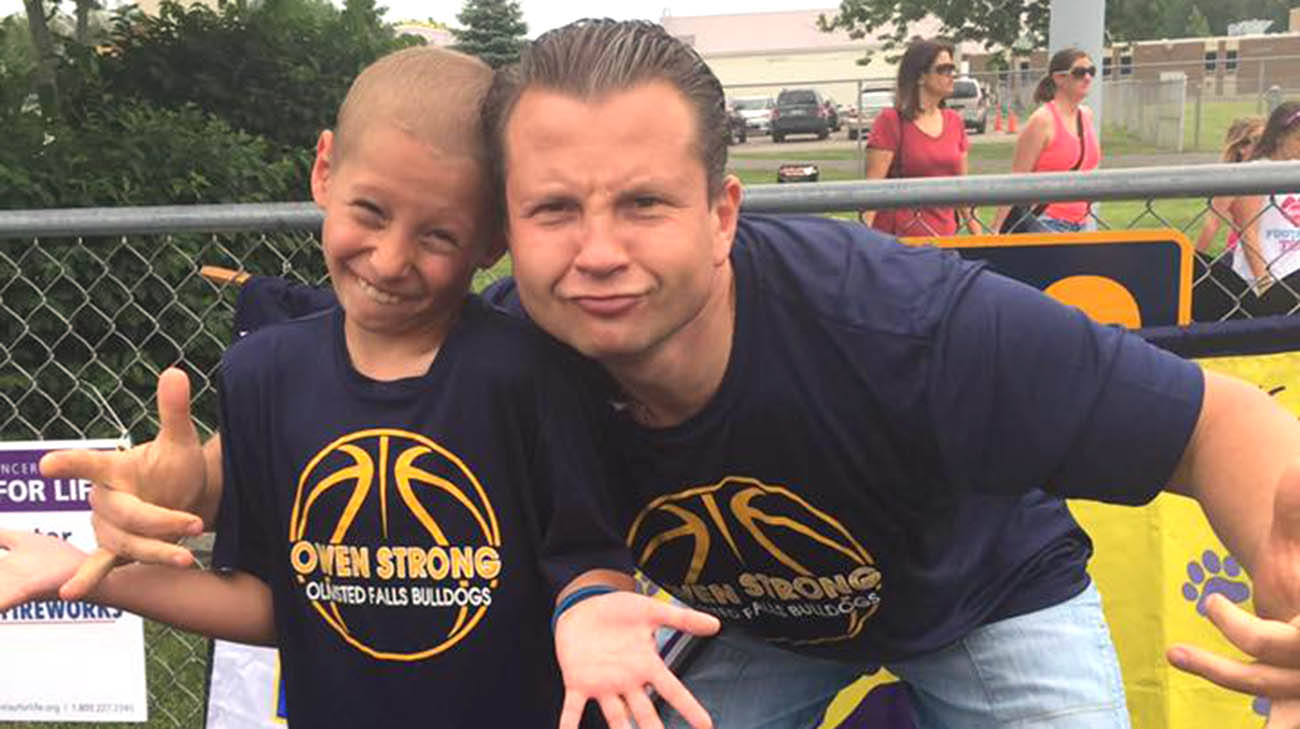 12-Year-Old Boy Survives Cancer Found in One Percent of Kids