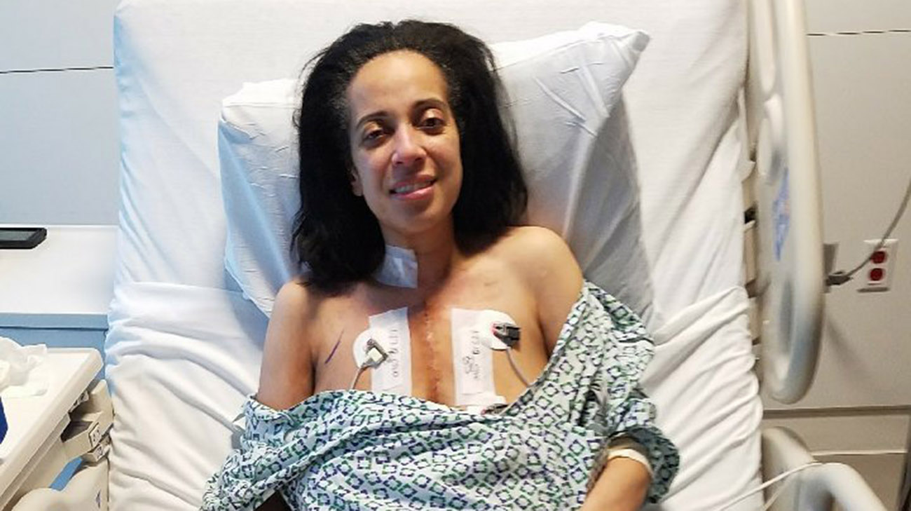 Cleveland Clinic doctors completed complex open-heart surgery to remove the tumor near her heart. (Courtesy: Cleveland Clinic)