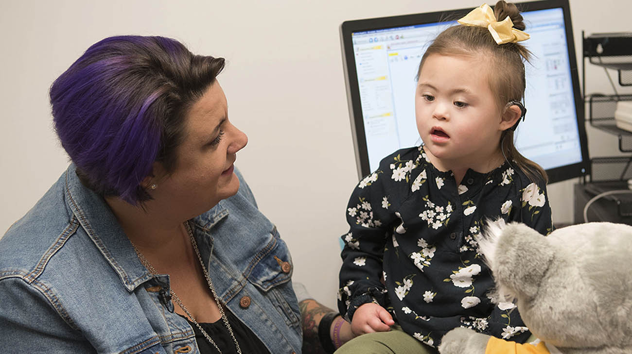 Grace Rosian cochlear implants at Cleveland Clinic Children's