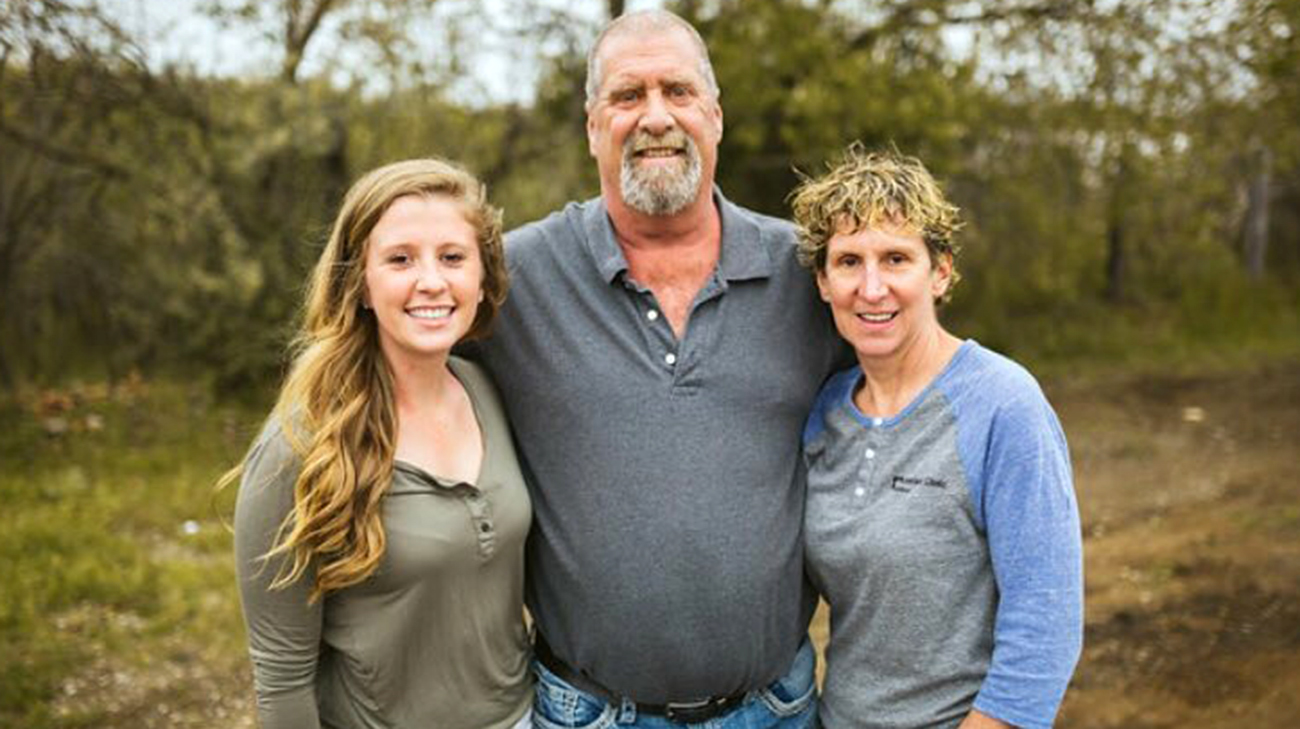 Ashley Rideout, Rick and Mary Ann's daughter, is now a traveling nurse after being inspired by her dad's medical journey. (Courtesy: Rick Rideout)