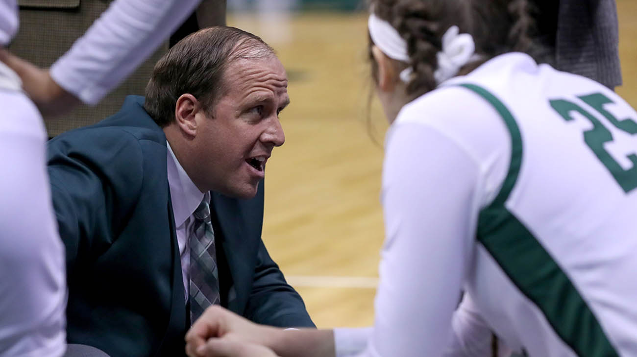Cleveland State University's women's head basketball coach, Chris Kielsmeier, was diagnosed with COVID-19.