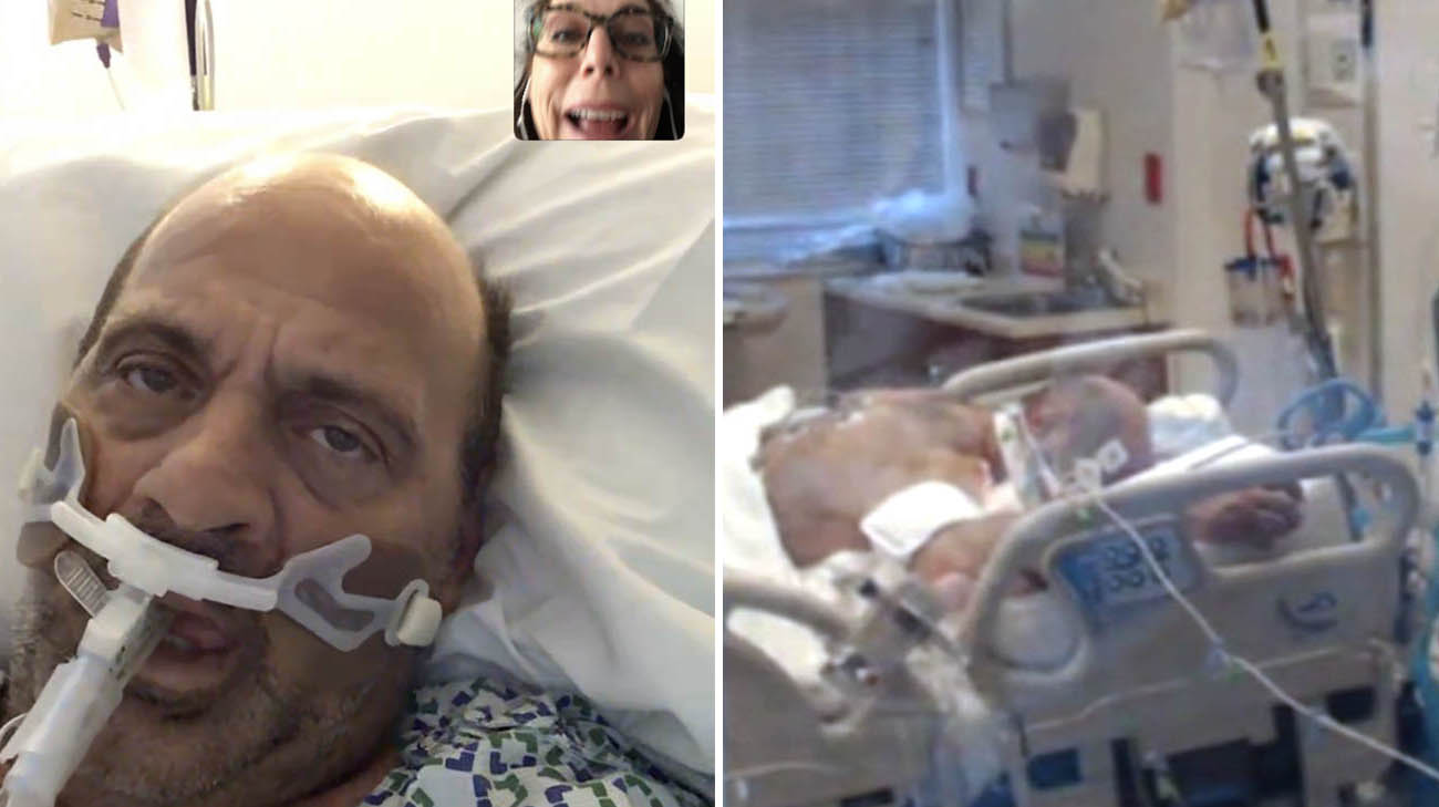 Michael Auletta spent 20 days on a ventilator, after being diagnosed with COVID-19.