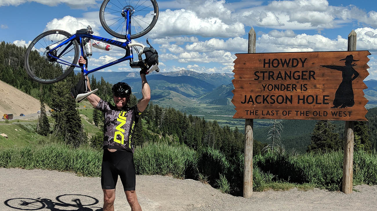 Dr. Rick Wilson biked 70 miles one week before he had a massive heart attack.