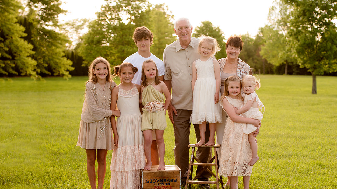 Rita with her husband Dale and their grandchildren. (Courtesy: Rita Kulbago)