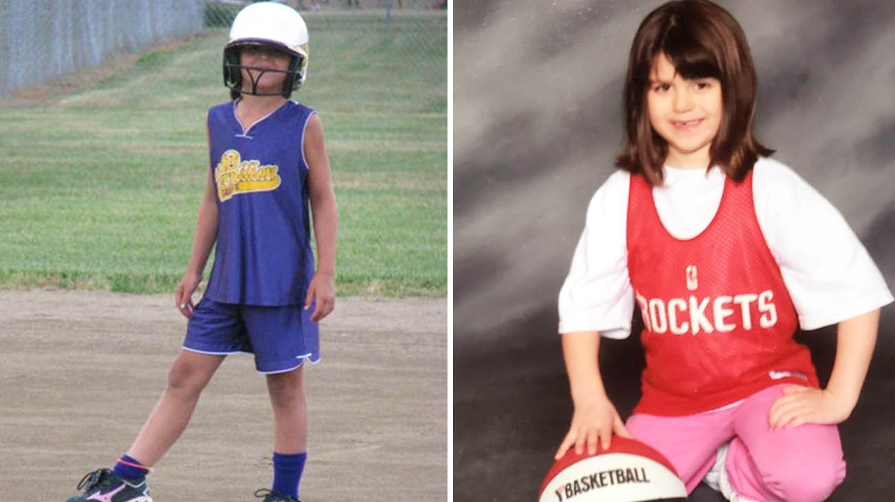Camryn has excelled at sports her whole life.