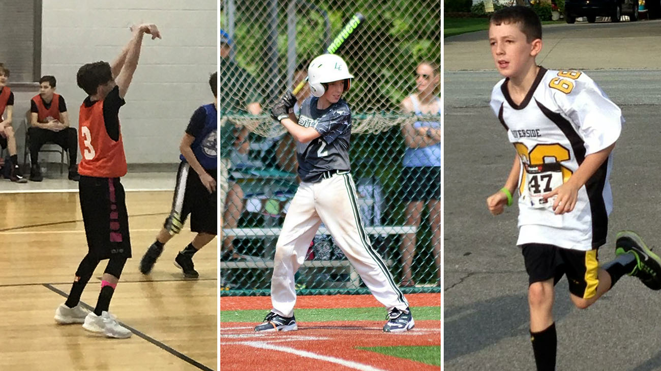 Jack has always loved being a multi-sport athlete. (Courtesy: Jacque Sparent)
