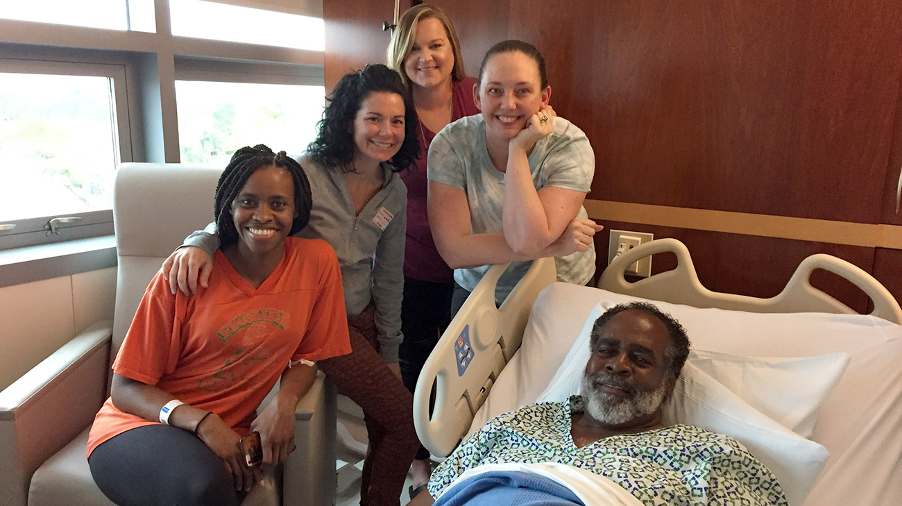 3e80b6138 Ronald Corbin: Kidney Transplant Patient Story | Cleveland Clinic