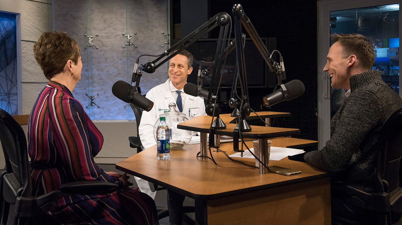 "Cindy shared her inspiring success story for the Cleveland Clinic podcast ""The Comeback."""